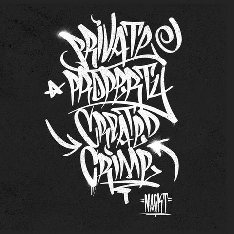 "Nackt - Private Property Created Crime - 12"" - Left Hand Path - LHP-003"