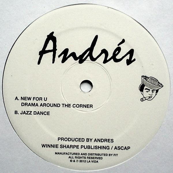 "Andrés - New For U - 12"" - La Vida - LA VIDA 001"