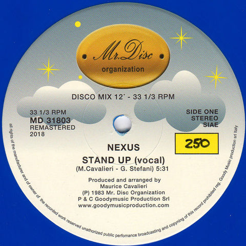 "Nexus - Stand Up - 12"" - Mr. Disc Organization - MD 31803"
