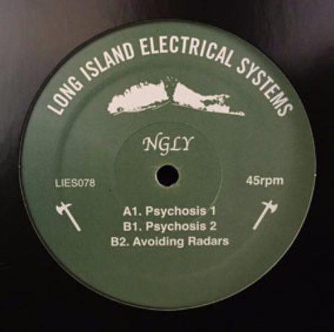 "NGLY - 12"" - LIES 078"