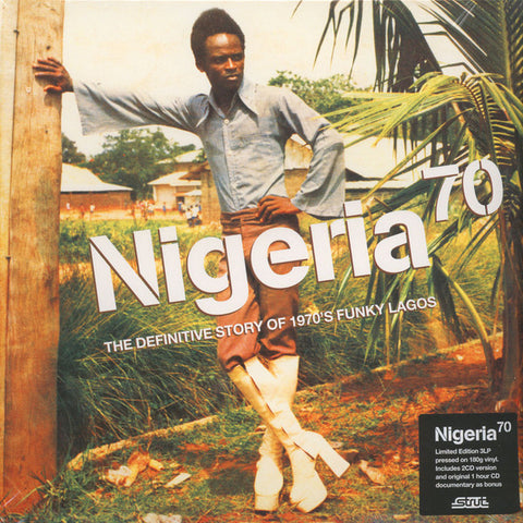 VA - Nigeria 70: The Definitive Story of 1970s Funky Lagos - 3xLP+3xCD - Strut - STRUT044LP