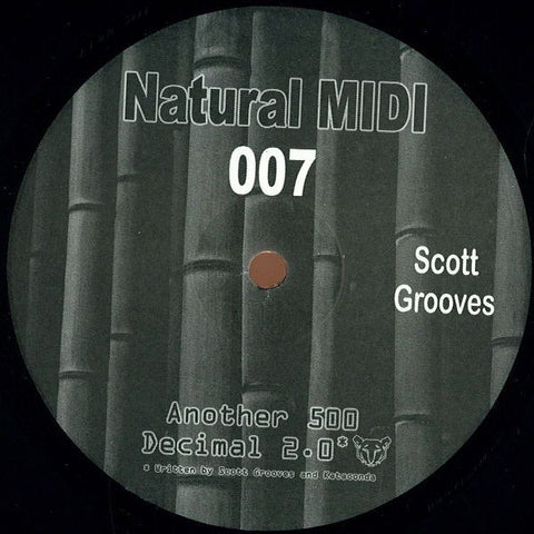 "Scott Grooves - Another 500 - 12"" - Natural Midi - NM-007"