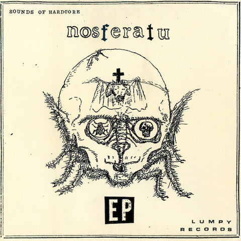 "NOSFERATU - Sounds of Hardcore - 7"" - Lumpy Records - LR71"
