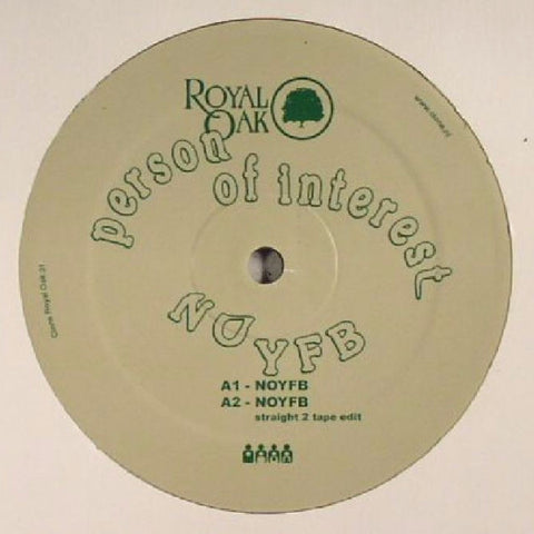 "Person of Interest - NOYFB - 12"" - Clone Royal Oak - Royal031"