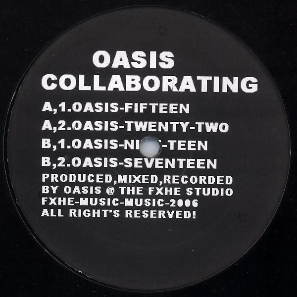 "Oasis Collaborating #2 - 2x12"" - FXHE - FXHE-2200 LP"