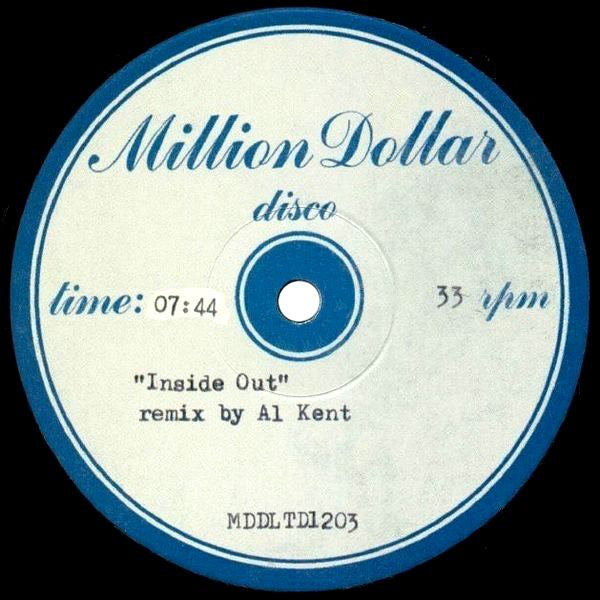 "Odyssey - Inside Out (Remix By Al Kent) - 12"" - Million Dollar Disco - MDDLTD1203"