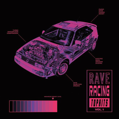 "VA - Rave Racing Top Hits Vol. 1 - 12"" - Oiwa - OIWA001"