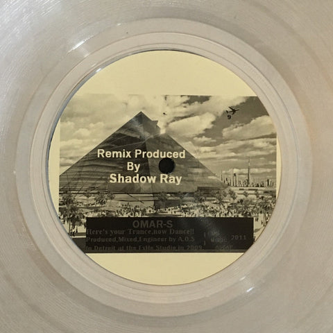 "Omar-S - Here's Your Trance, Now Dance!! - 12"" - FXHE Records - AOS-009½"