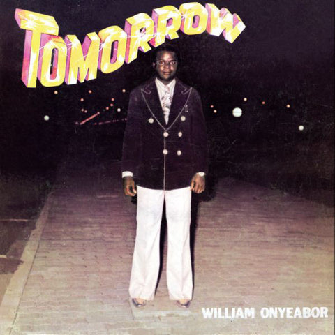 William Onyeabor - Tomorrow - LP - Luaka Bop - LBLP 5034