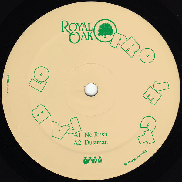 "Project Pablo - One For Some EP - 12"" - Royal Oak - Royal 35"