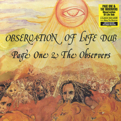 Page One & The Observers - Observation of Life Dub - Burning Sounds - BSRL995