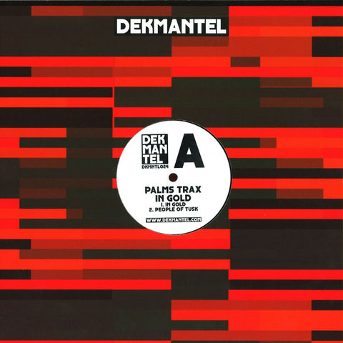 "Palms Trax - In Gold - 12"" - Dekmantel - DKMNTL024"