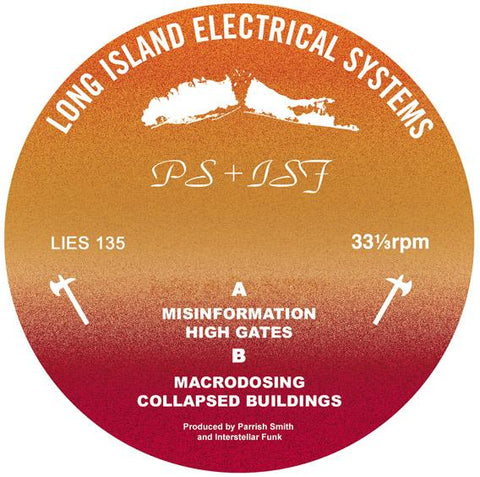"PS + ISF - 12"" - LIES 135"