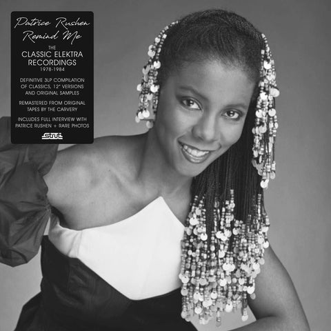 Patrice Rushen - Remind Me (The Classic Elektra Recordings 1978-1984) - 3xLP - Strut - STRUT205LP