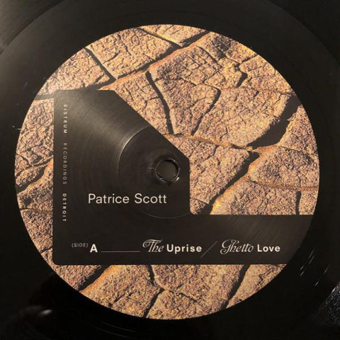 "Patrice Scott - The Uprise - 12"" - Sistrum Recordings ‎- SIS031"