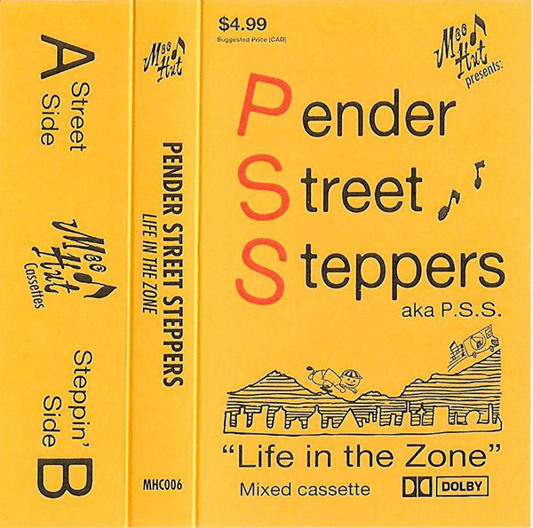 Pender Street Steppers ‎– Life In The Zone - CS - Mood Hut - MHC006