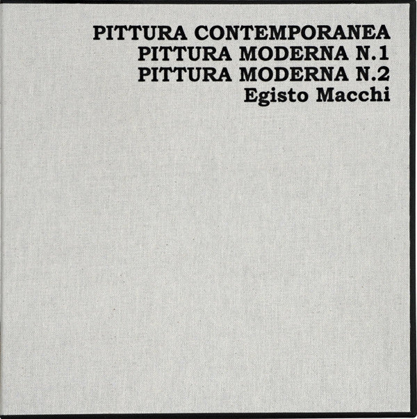 Egisto Macchi - Pittura Contemporanea / Pittura Moderna N.1 & 2 - 3xLP box - Cinedelic Records - CNAY 106/7/8
