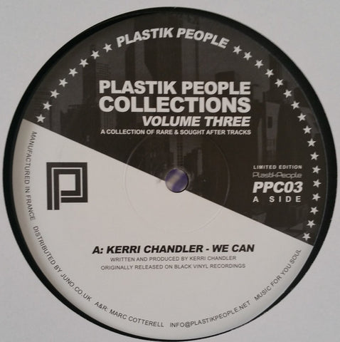 "VA - Plastik People Collections Volume Three - 12"" - Plastik People - PPC03"