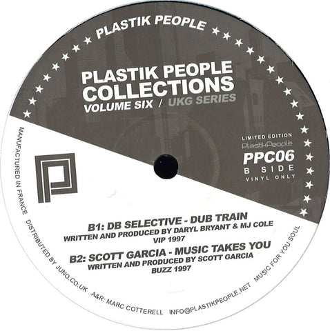 "VA - Plastik People Collections Vol Six (UKG Series) - 12"" - Plastik People - PPC06"
