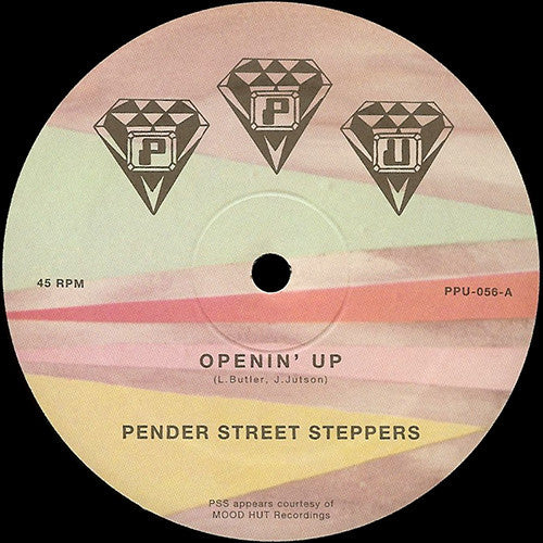 "Pender Street Steppers - Openin' Up - 12"" - Peoples Potential Unlimited - PPU-056"