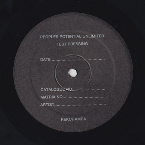 REKchampa - LP - Peoples Potential Unlimited - PPU-071