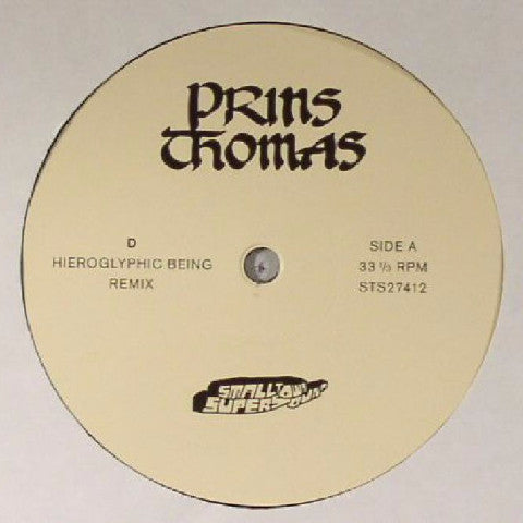 "Prins Thomas - D - 12"" - Smalltown Supersound - STS 27412"
