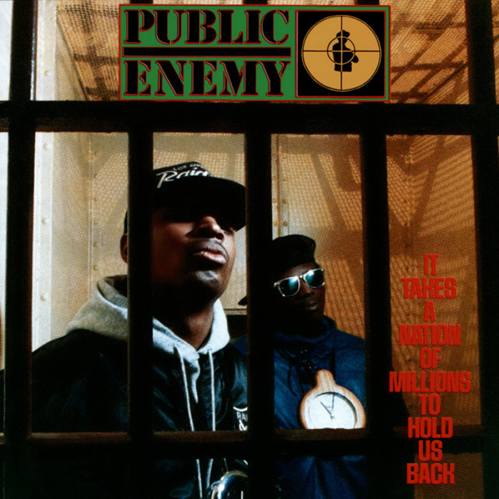 Public Enemy ‎- It Takes A Nation Of Millions To Hold Us Back - LP - Def Jam Recordings - B0019394-01