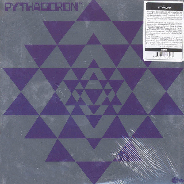 Pythagoron - LP - Wah Wah Records - LPS178