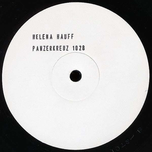 "Helena Hauff - Return to Disorder - 12"" - Panzerkreuz 1028"