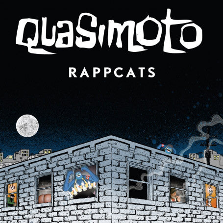 "Quasimoto - Rappcatts EP - 12"" - Stones Throw Records - STH 2107"