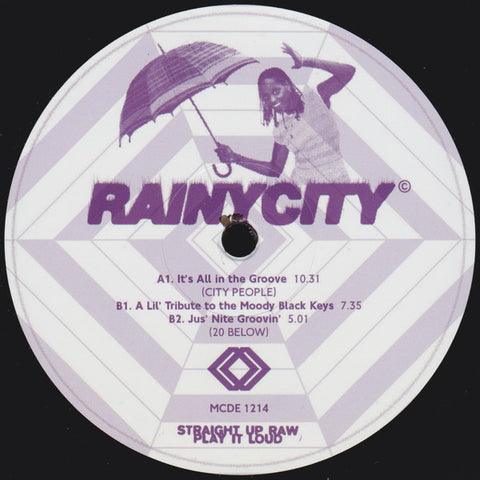 "City People / 20 Below - It's All in the Groove - 12"" - MCDE 1214"