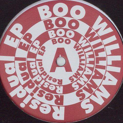 Boo Williams - Residual EP - Rush Hour - RH-BW1