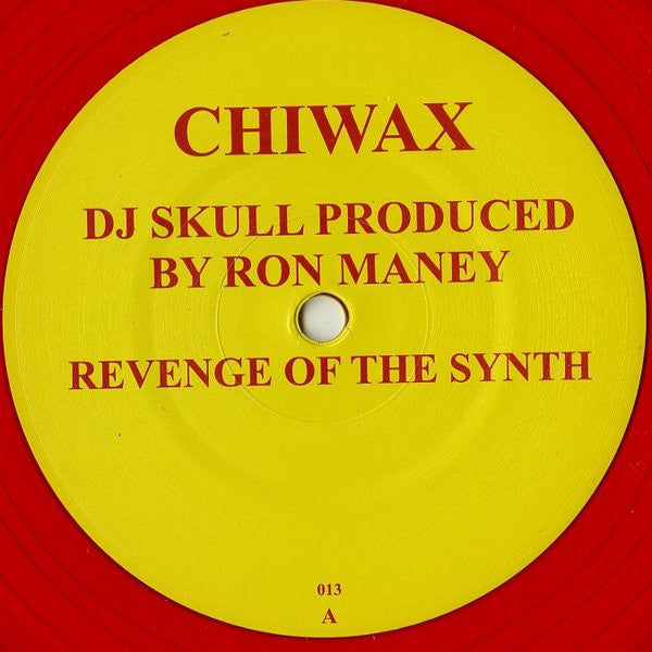 "DJ Skull - Revenge of the Synth - 12"" - Chiwax 013"
