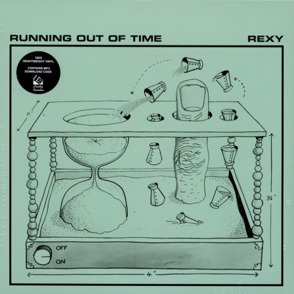 Rexy - Running Out of Time - LP - Lucky Number - LUCKY090LP