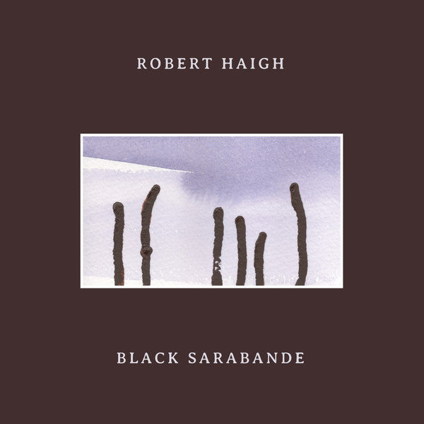 Robert Haigh - Black Sarabande - LP - Unseen Worlds - UW029LP