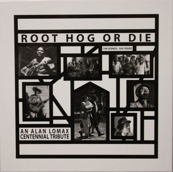 VA - Root Hog Or Die: 100 Songs, 100 Years, An Alan Lomax Centennial Tribute - 6xLP box - Mississippi  - MRP-060