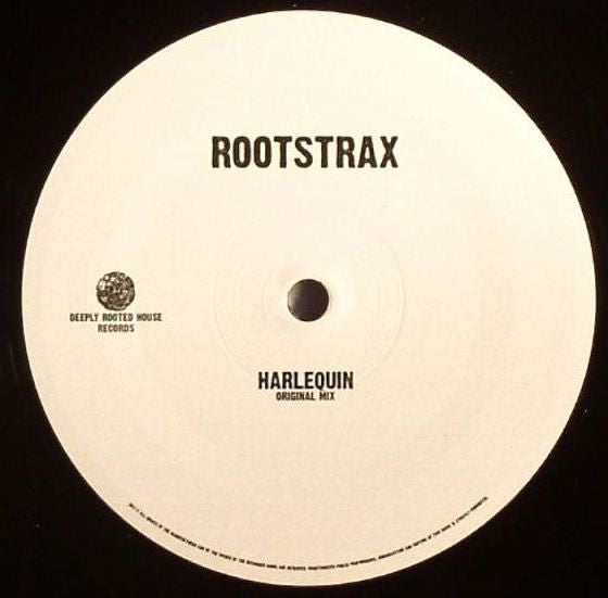 "Rootstrax ‎- Harlequin - 12"" - Deeply Rooted House - DRH033"