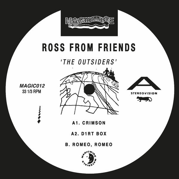"Ross From Friends - The Outsiders - 2x12"" - Magicwire - MAGICRS012"