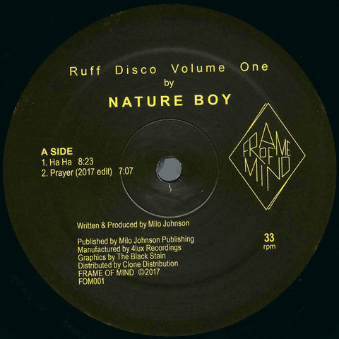 Nature Boy - Ruff Disco Vol One - 2xLP - Frame of Mind - FOM001