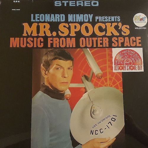 Leonard Nimoy - Presents Mr. Spock's Music From Outer Space - LP - Varèse Vintage - 3020674911