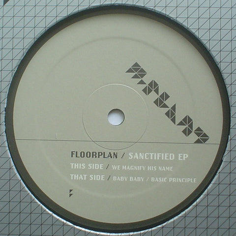 "Floorplan - Sanctified EP - 12"" - M-Plant - M.PM13"