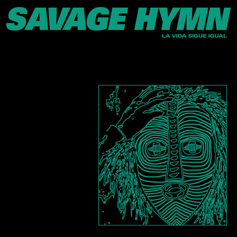 "Savage Hymn - La Vida Sigue Igual - 12"" - Dark Entries - DE-173"