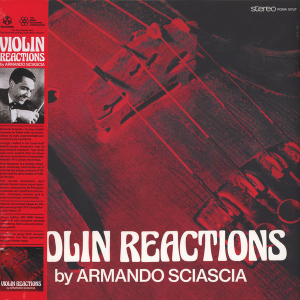 Armando Sciascia - Violin Reactions - LP - The Roundtable / The Omni Recording Corporation - ROMA 107 LP