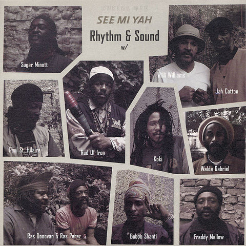 Rhythm & Sound - See Mi Yah - LP - Burial Mix - BMLP-4