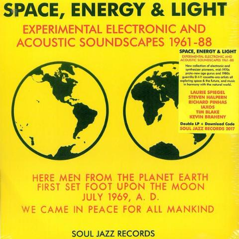 VA - Space, Energy & Light (Experimental Electronic and Acoustic Soundscapes 1961-88) - 3xLP - Soul Jazz Records - SJR LP392