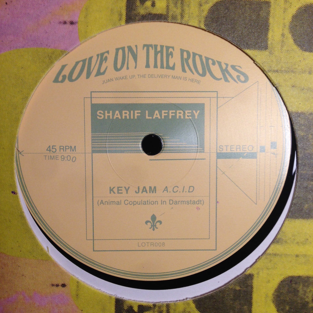 "Sharif Laffrey - Key Jam Acid - 12"" - Love on the Rocks - LOTR 008"