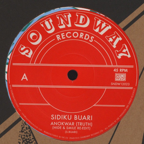 "Sidiku Buari - Anokwar (Truth) - 12"" - Soundway - SNDW12023"