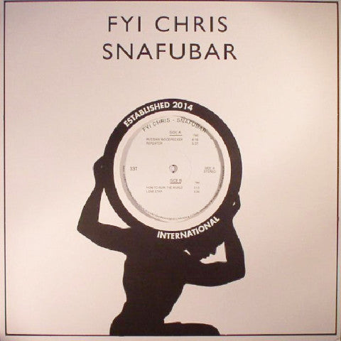 "FYI Chris - Snafubar - 12"" - Rhythm Section International - RS018"