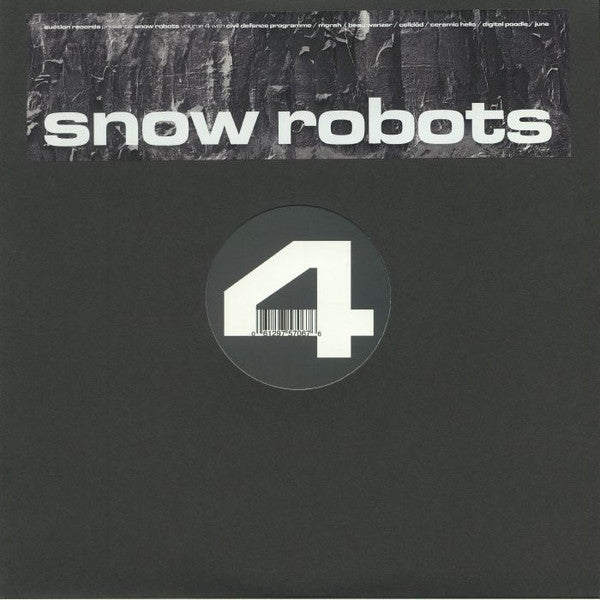 VA - Snow Robots Volume 4 - LP - Suction Records - suction043