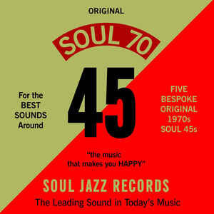 "VA - Soul 70 - 5x7"" box - Soul Jazz Records - SJR378BOX"